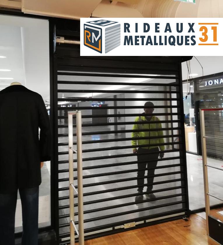 rideau metallique magasin de vêtement - RM31